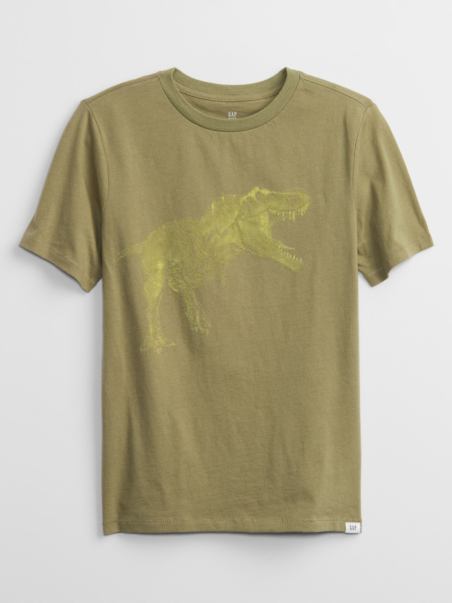 GAP V-SS July Interact Тениска детска Zelen