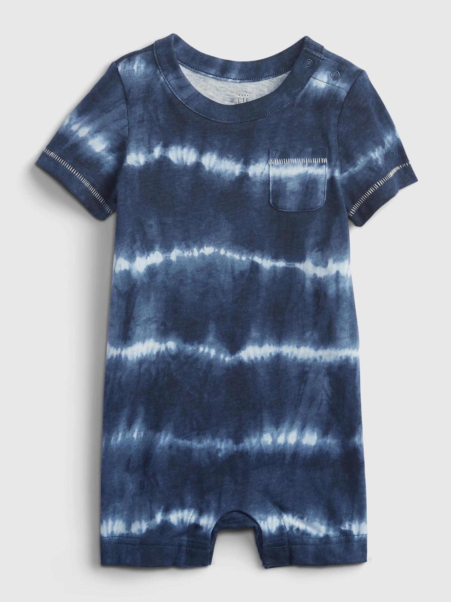 GAP Детска тениска за момче син цвят