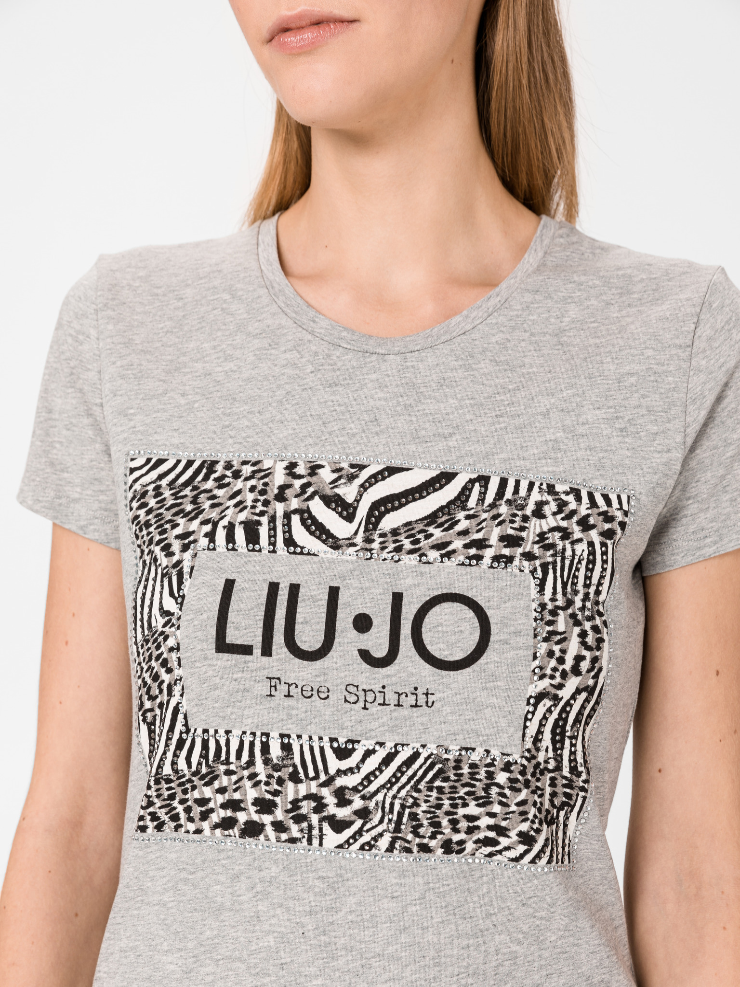 Liu Jo сива женски риза