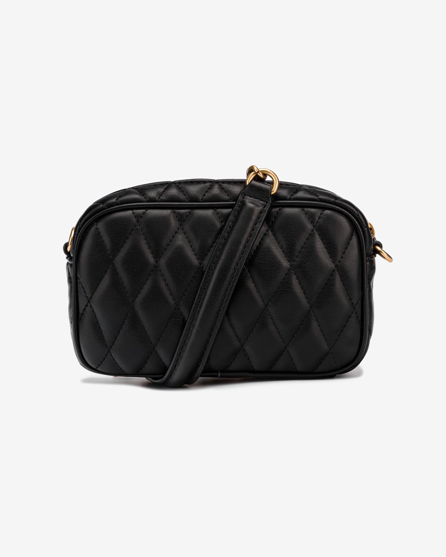 Versace Jeans Couture черна дамска чанта