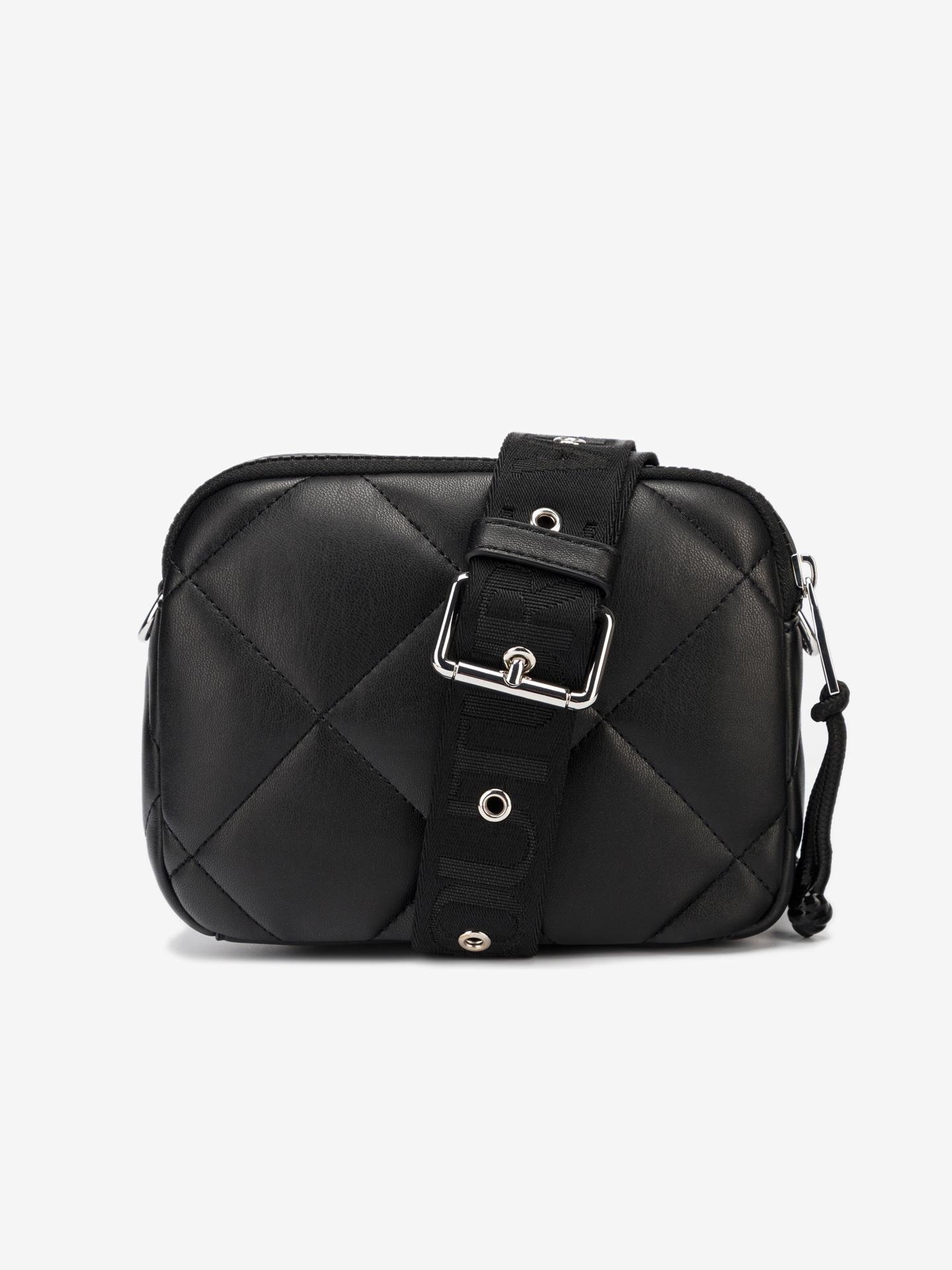 Versace Jeans Couture черна crossbody дамска чанта