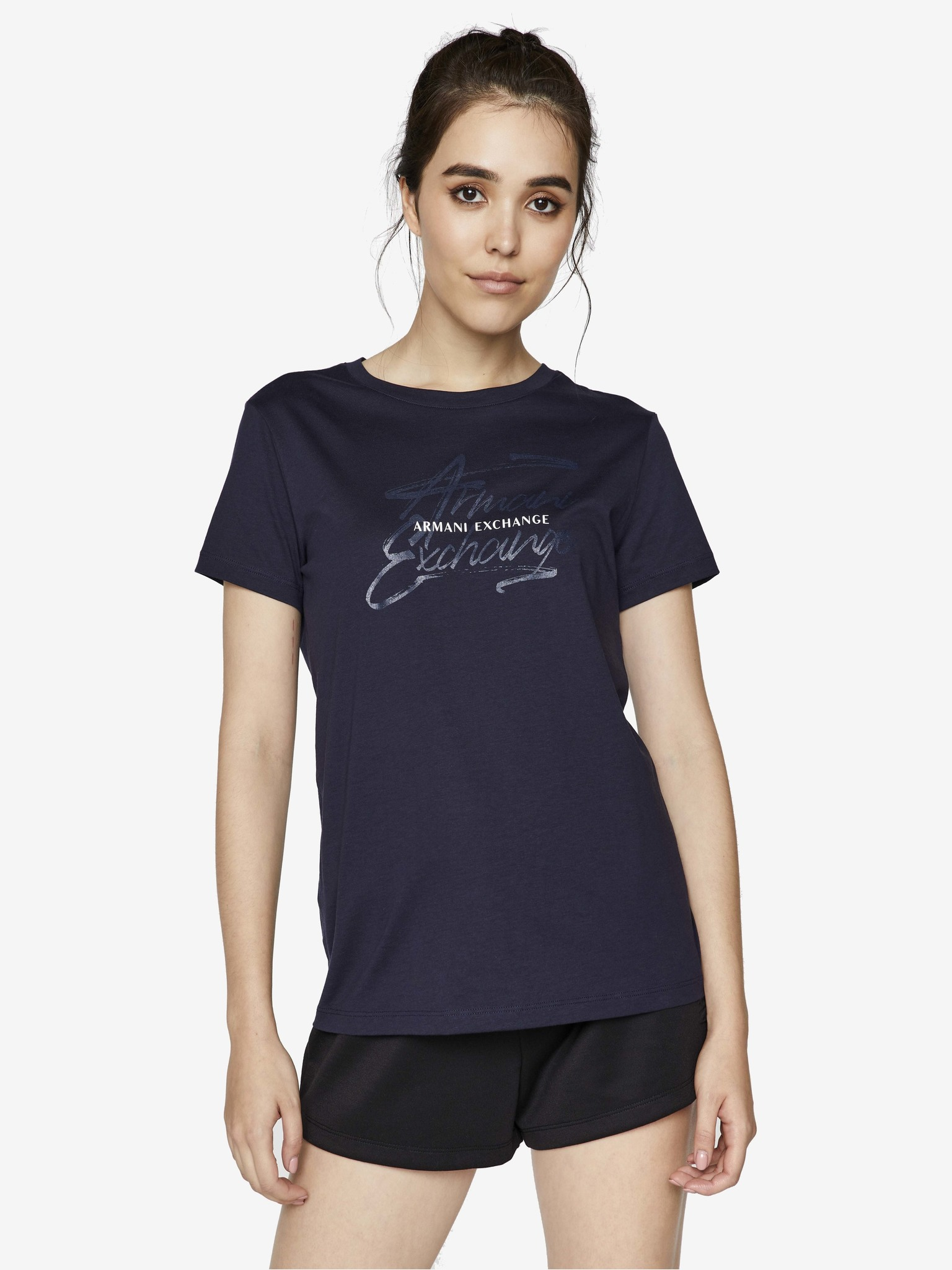 Armani Exchange синя женски риза