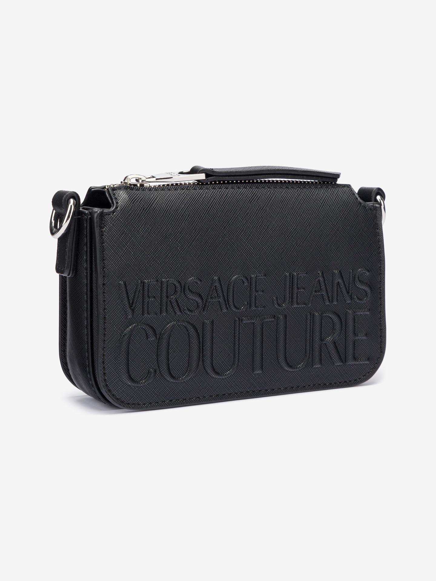 Versace Jeans Couture черна crossbody чанта