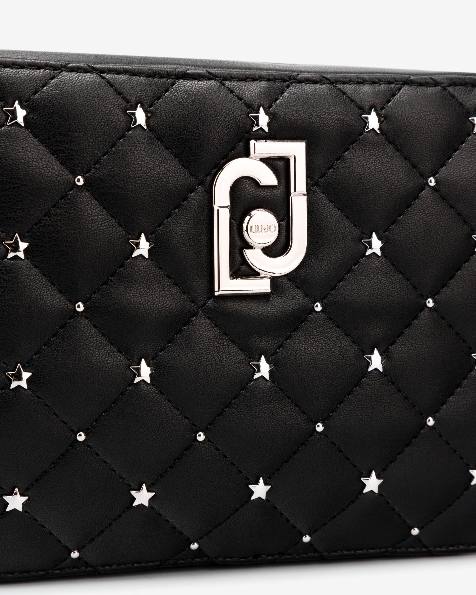 Liu Jo черна crossbody чанта