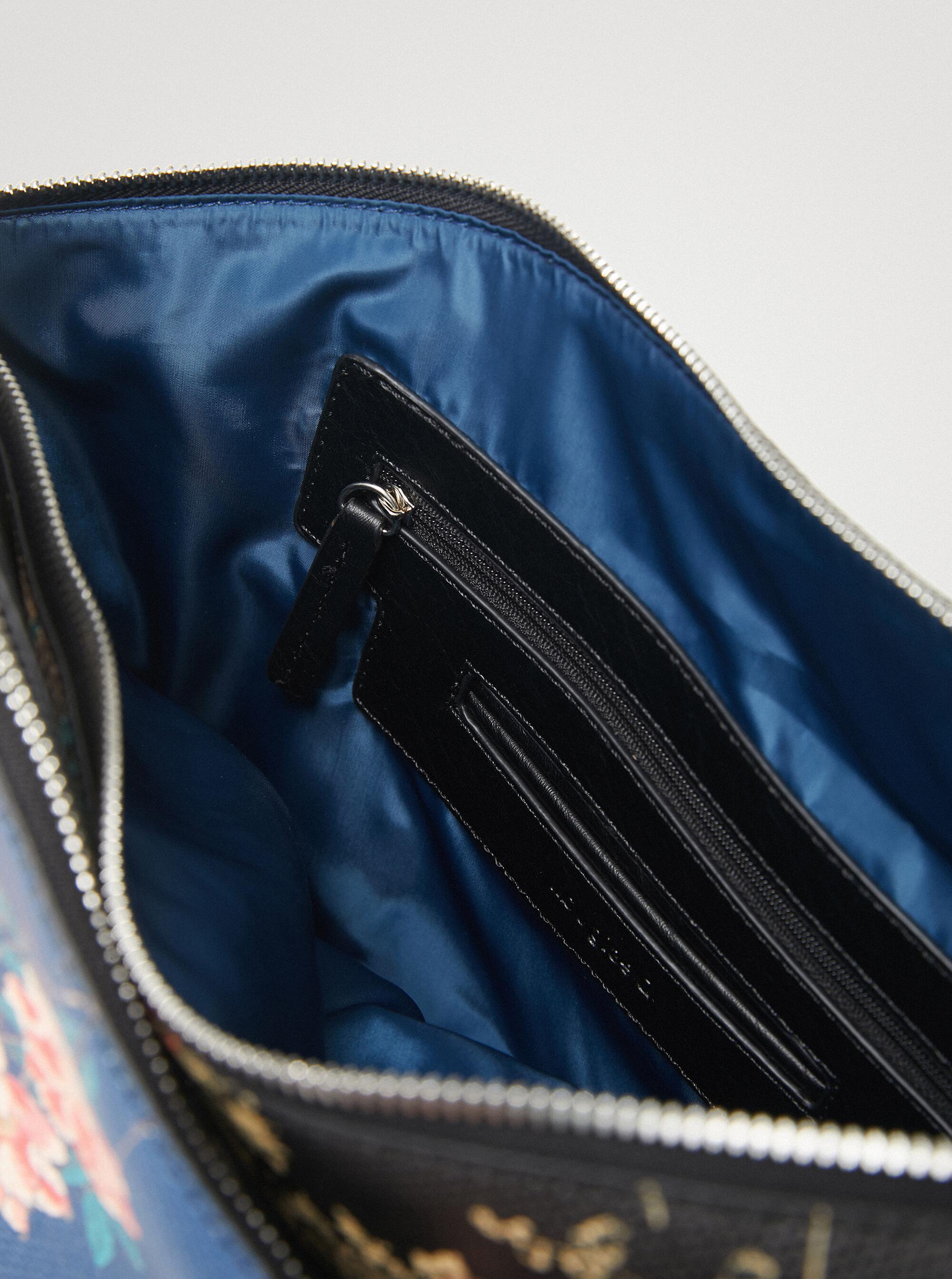 Desigual синя дамска чанта Magnus Harry 2.0 Maxi