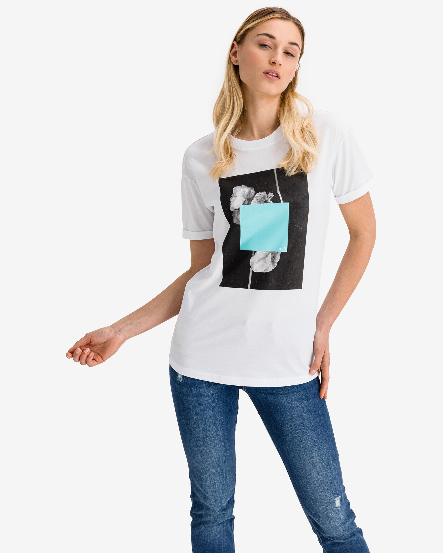 Armani Exchange Тениска Byal