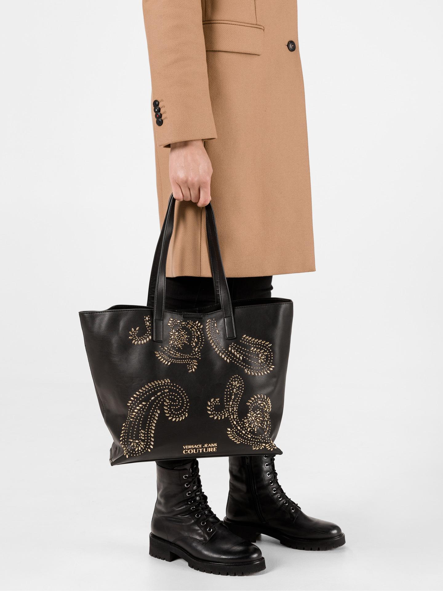 Versace Jeans Couture Дамска чанта Cheren