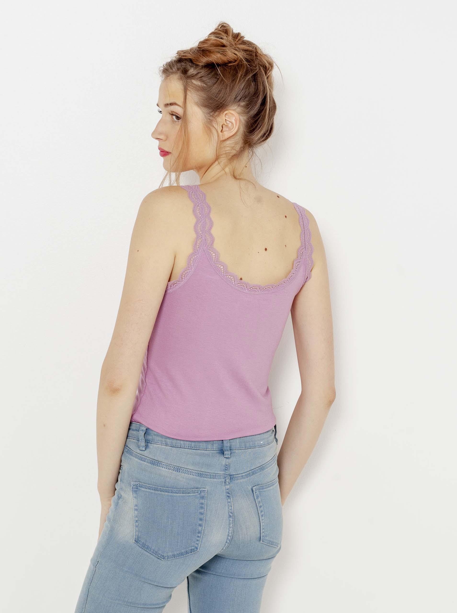 CAMAIEU лилав женски долна с дантела