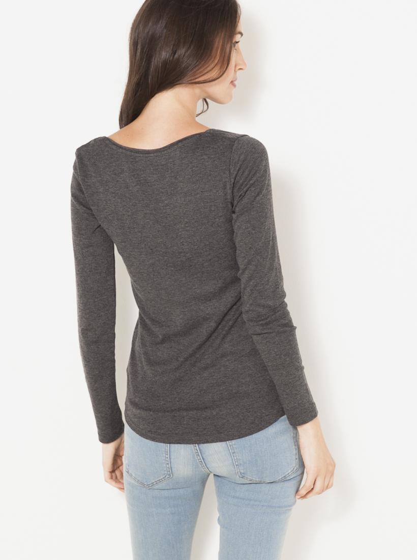 CAMAIEU Дамска тениска сиво