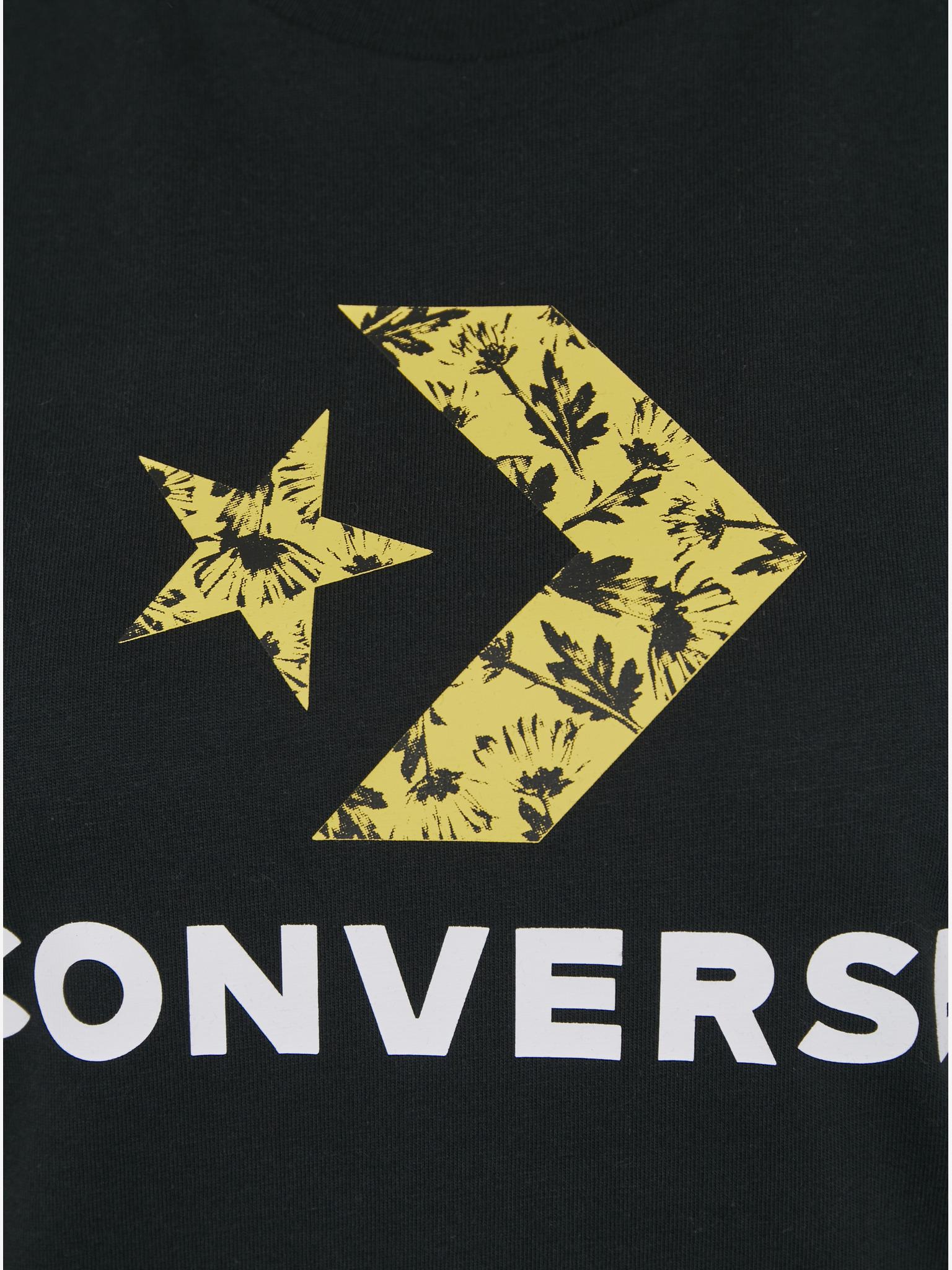 Converse Дамска тениска черно  Star