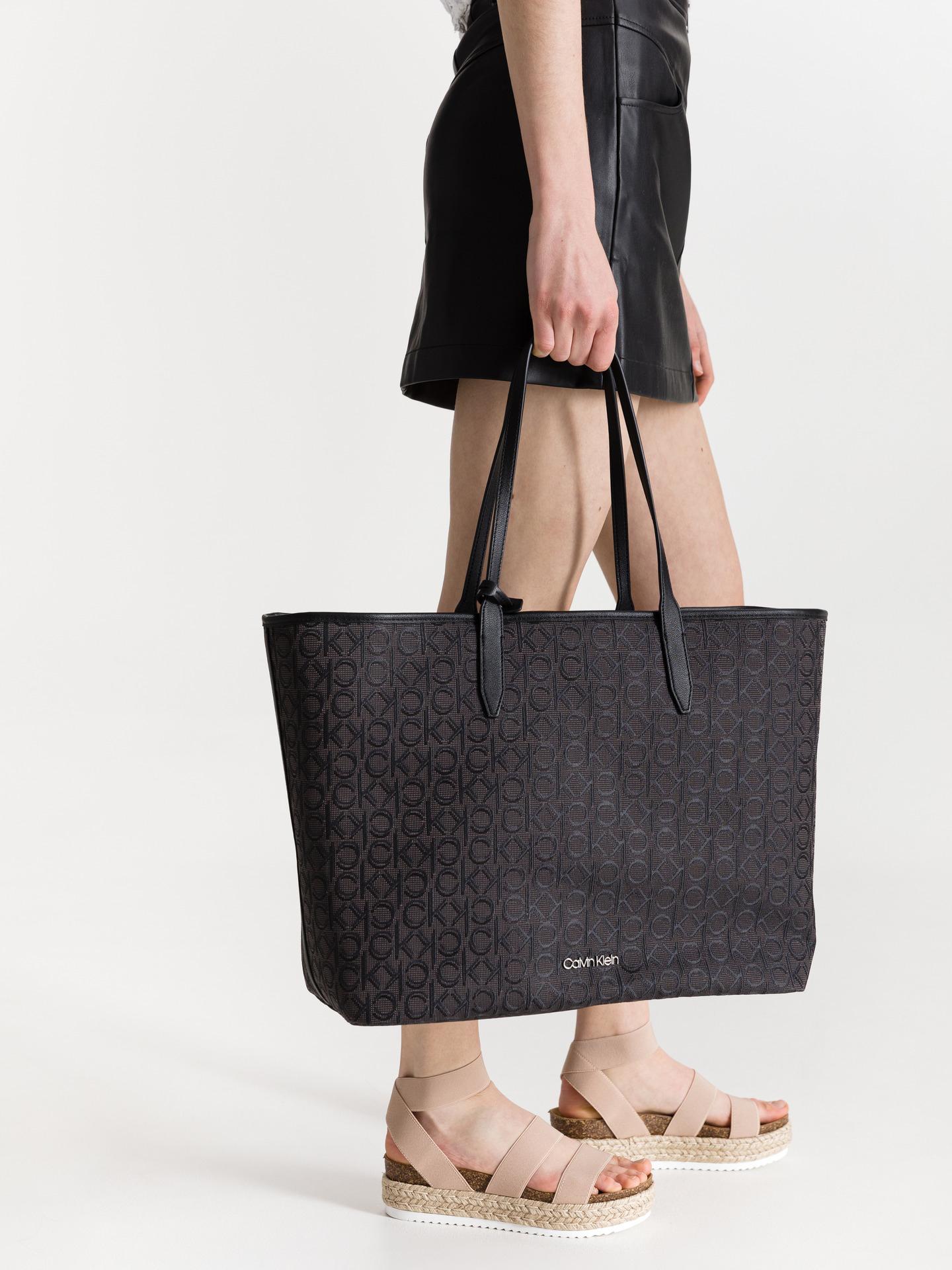 Calvin Klein дамска чанта Jacquard Shopper