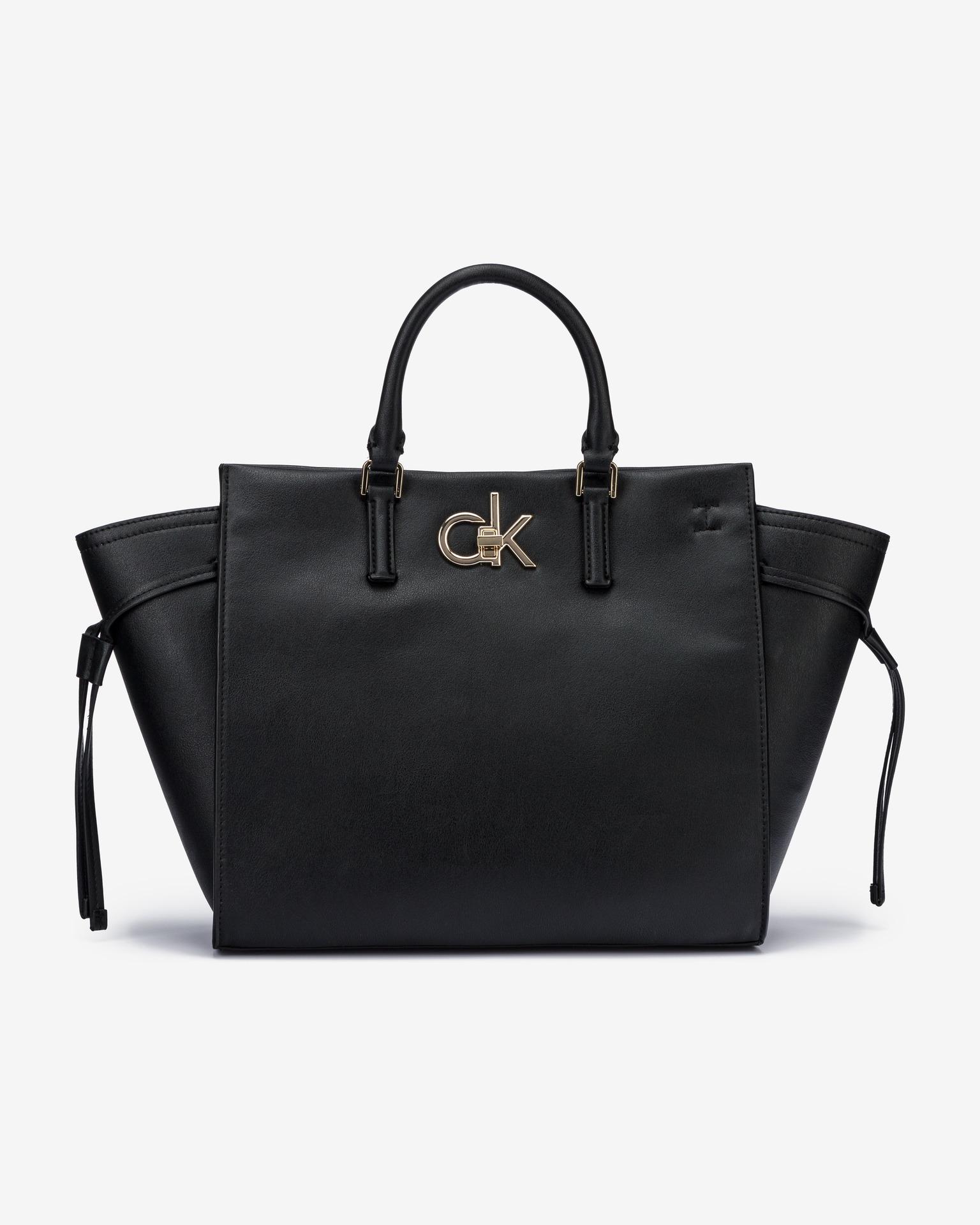 Calvin Klein черна дамска чанта