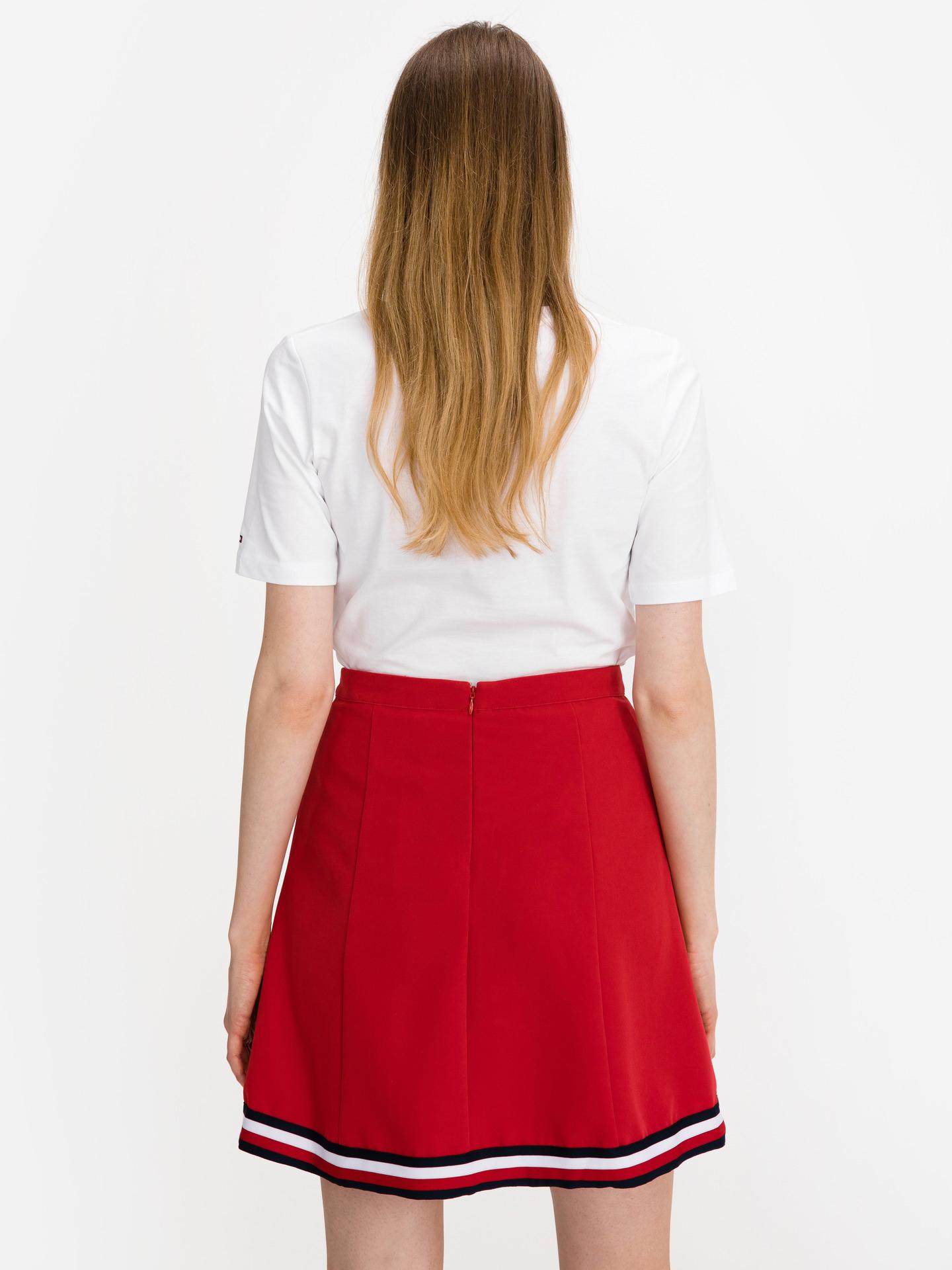 Tommy Hilfiger бяла женски риза Box Logo