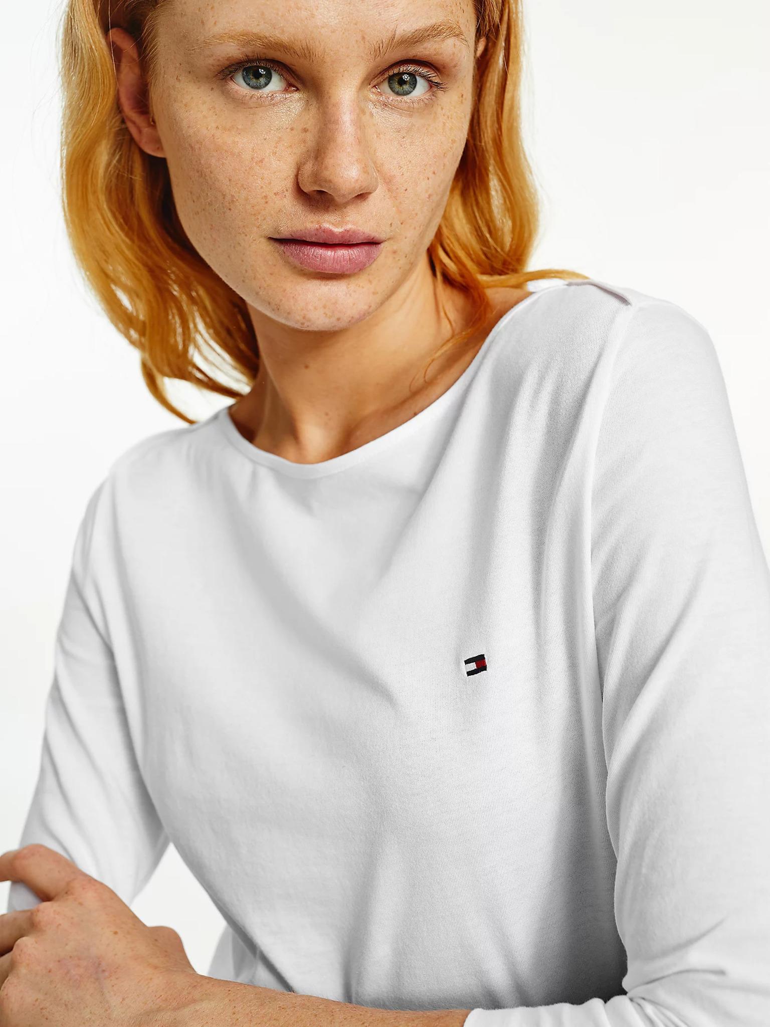 Tommy Hilfiger бяла женски риза