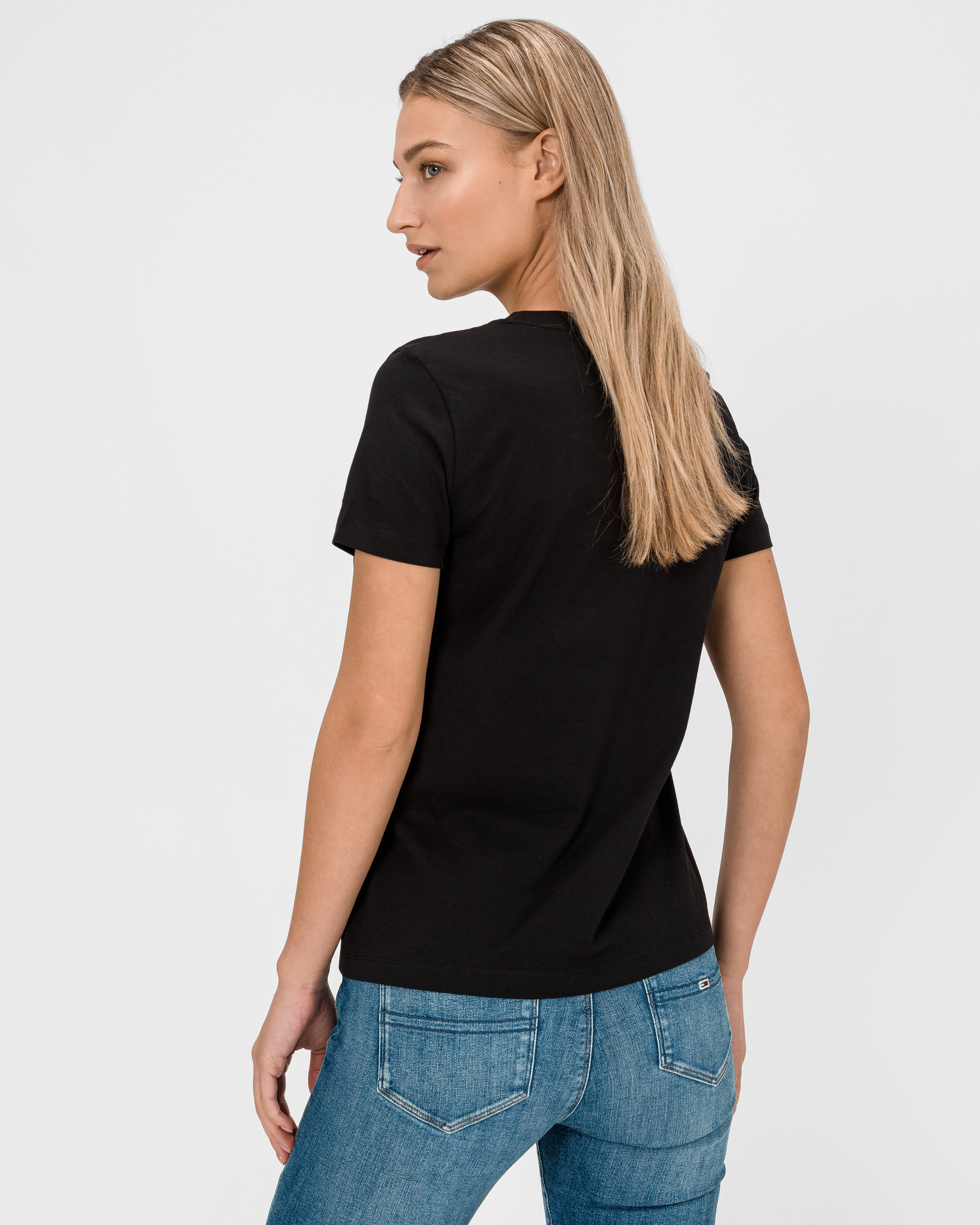 Tommy Hilfiger черна женски риза Essential