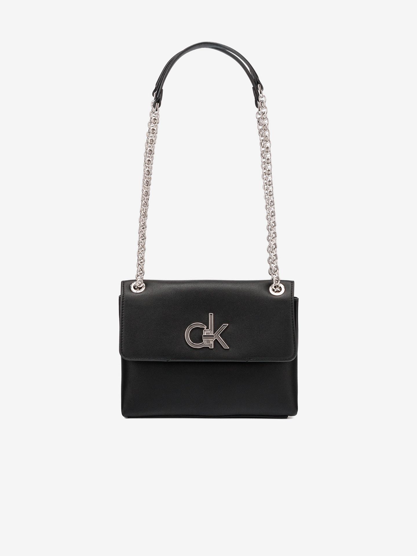 Calvin Klein черна crossbody чанта Ew Conv Flap