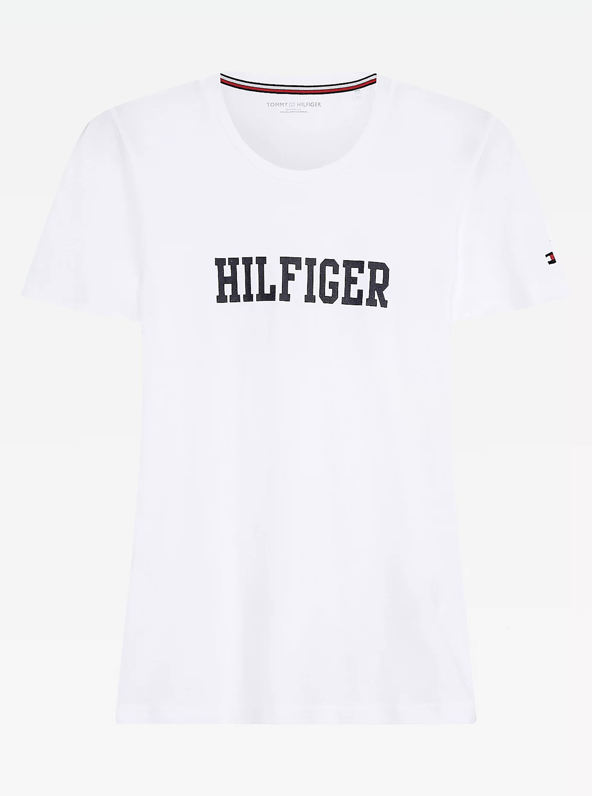Tommy Hilfiger бяла риза с лого