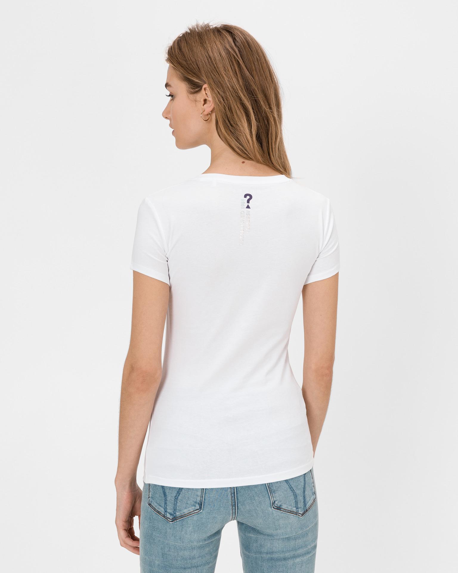 Guess Дамска тениска бял Triko