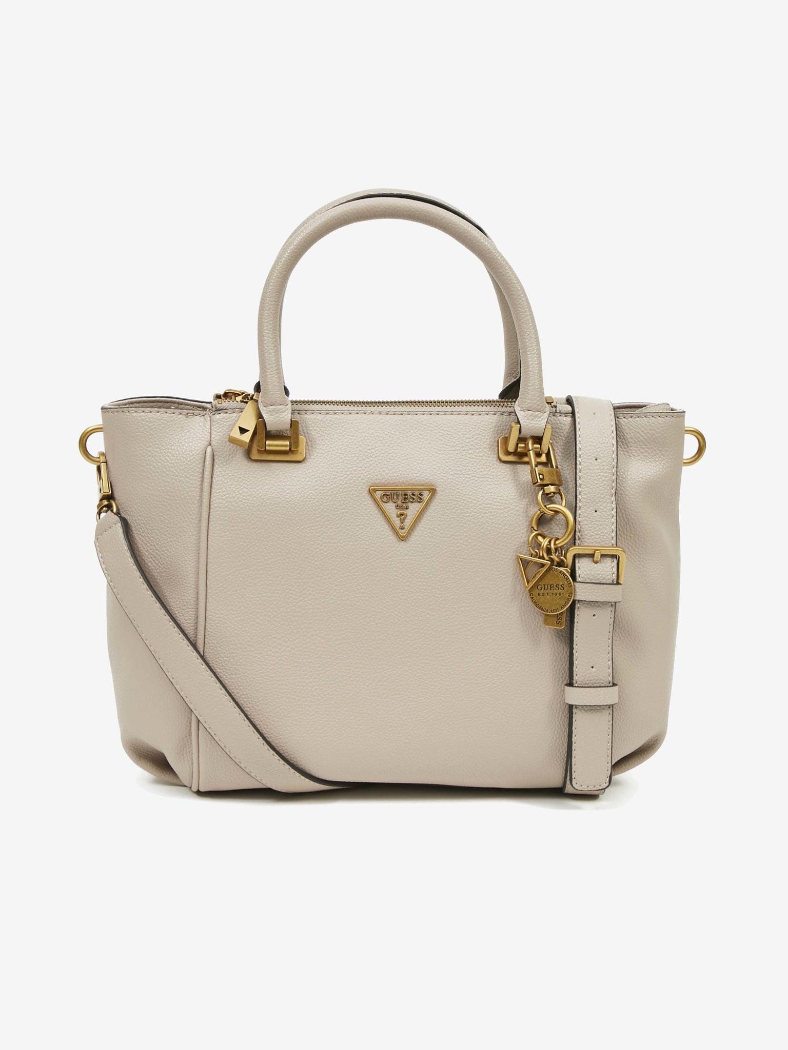 Guess кафява дамска чанта Destiny Status