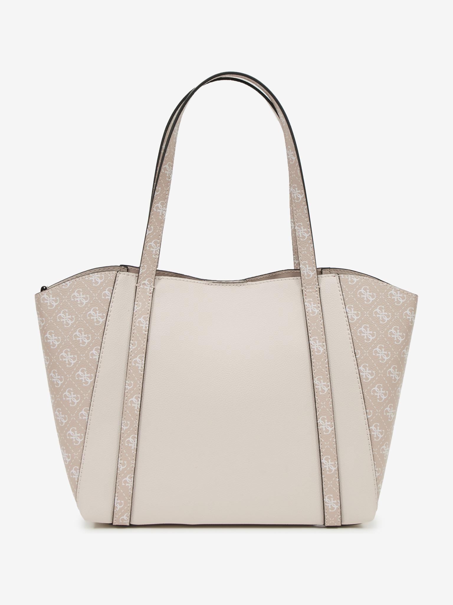 Guess кафява дамска чанта Naya
