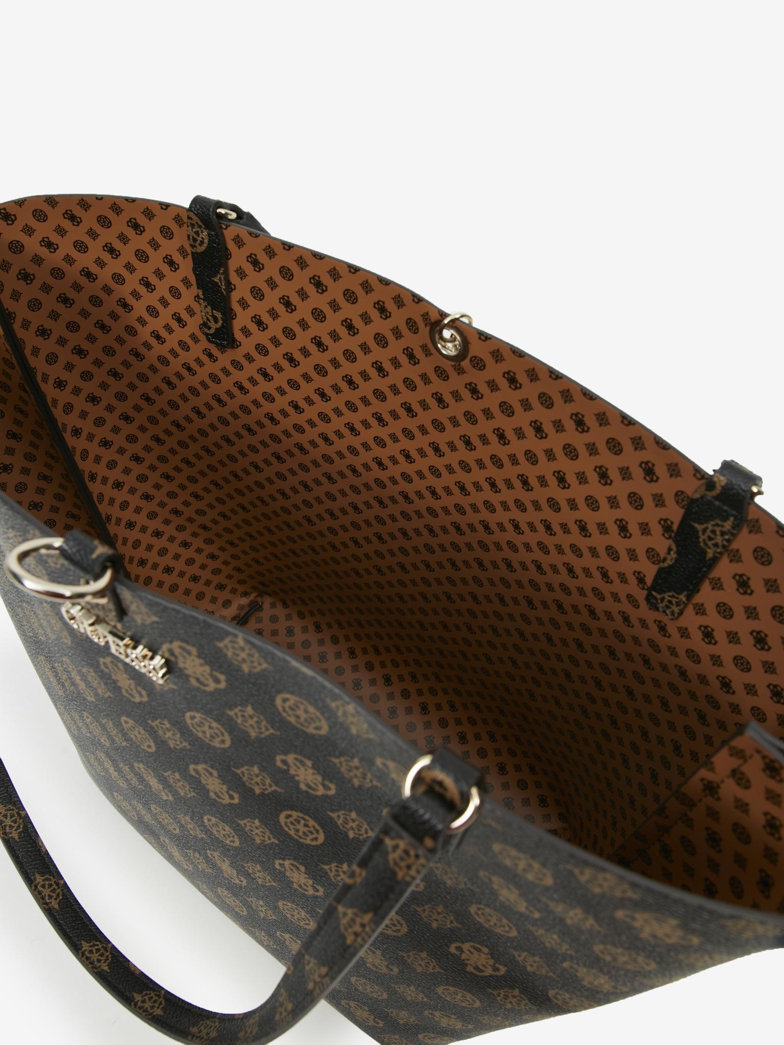 Guess кафява дамска чанта Alby