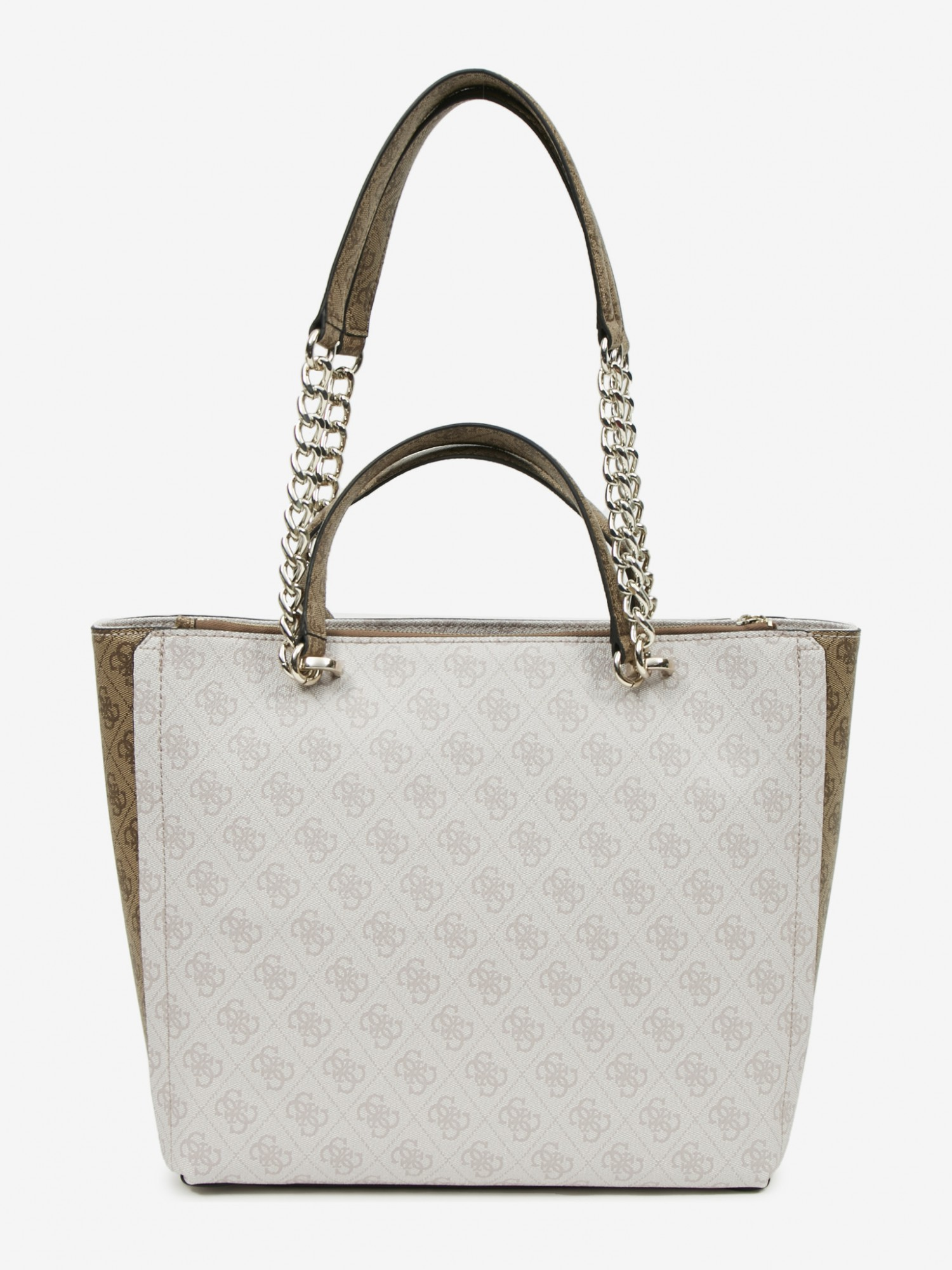 Guess бяла дамска чанта Alisa Society