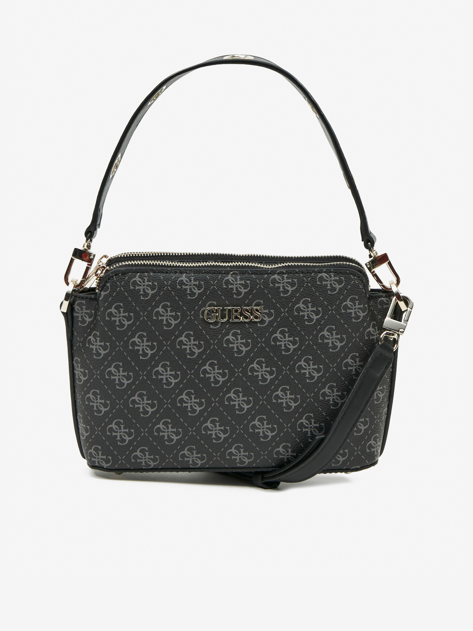 Guess черна дамска чанта Washington