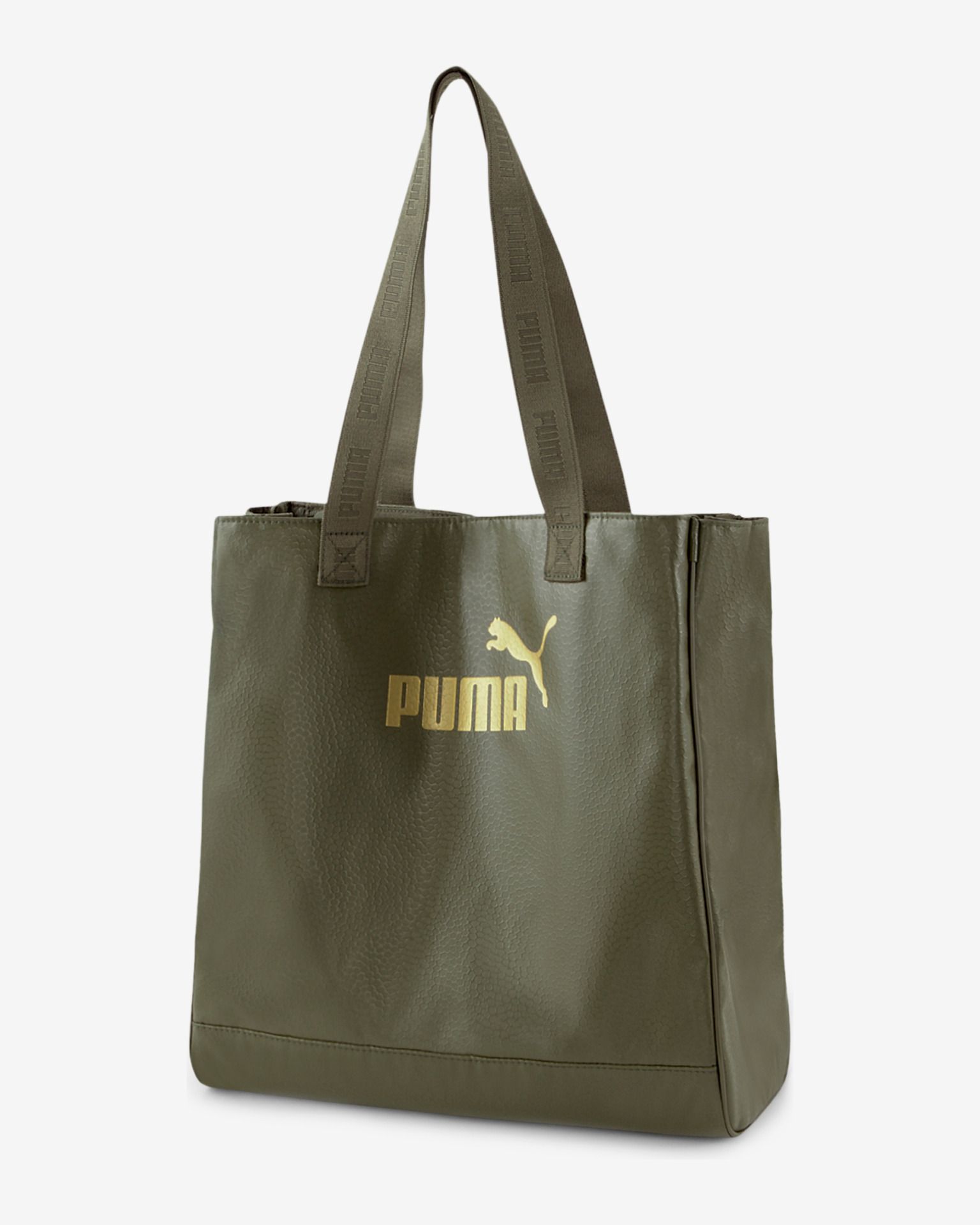 Puma Core Up Shopper Чанта Zelen