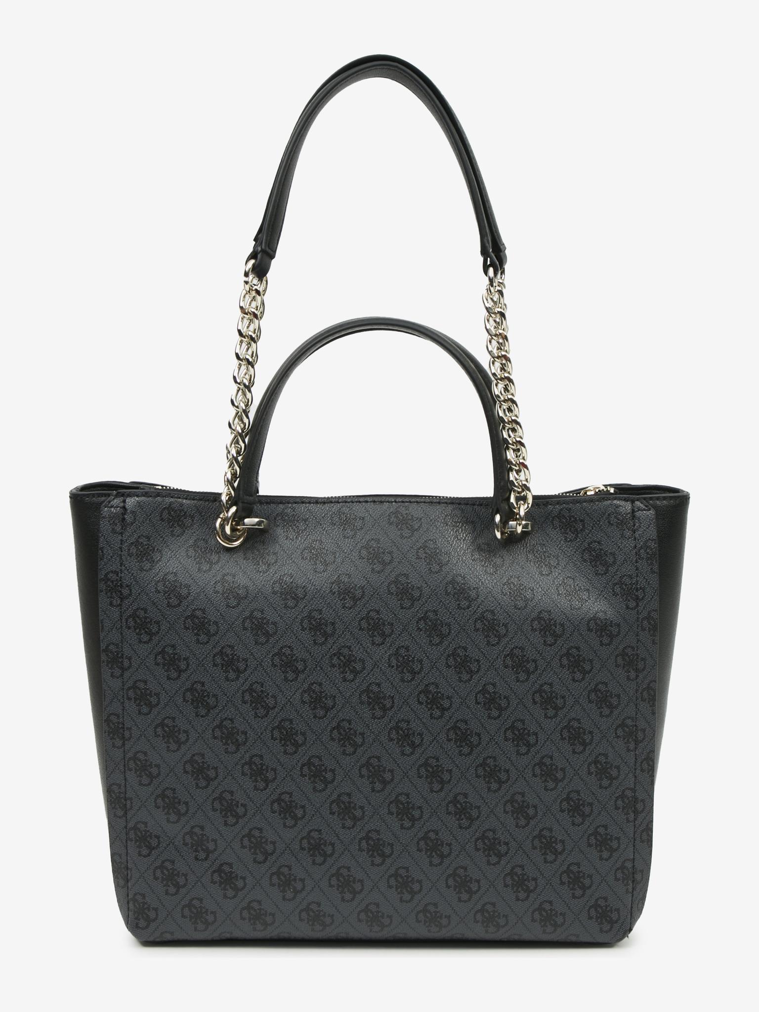 Guess черна дамска чанта Alisa Society