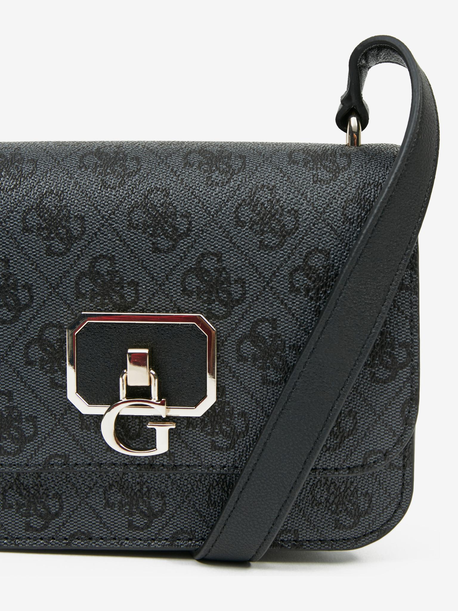 Guess черна crossbody дамска чанта Noelle Mini