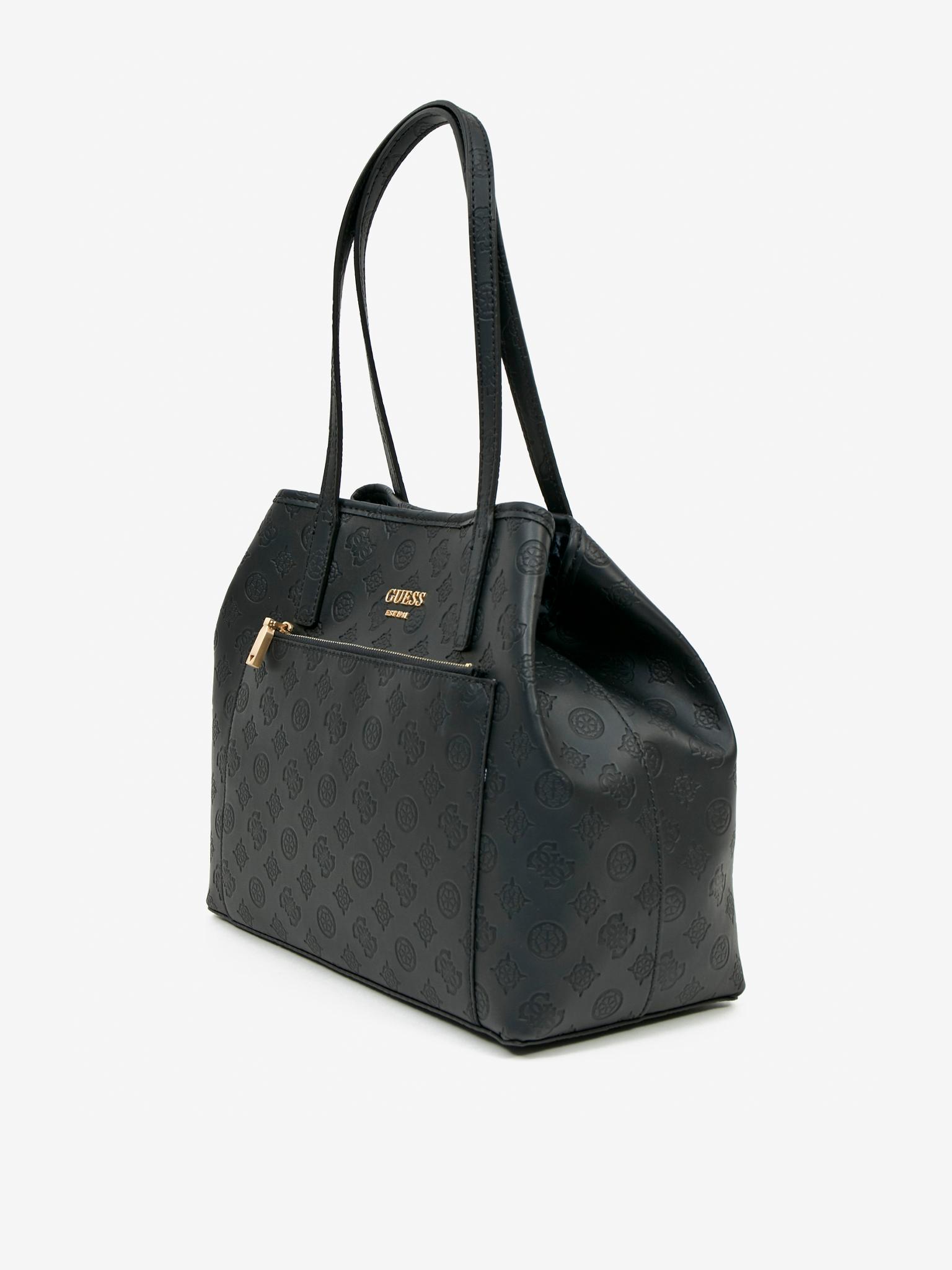 Guess черна дамска чанта Vikky Roo