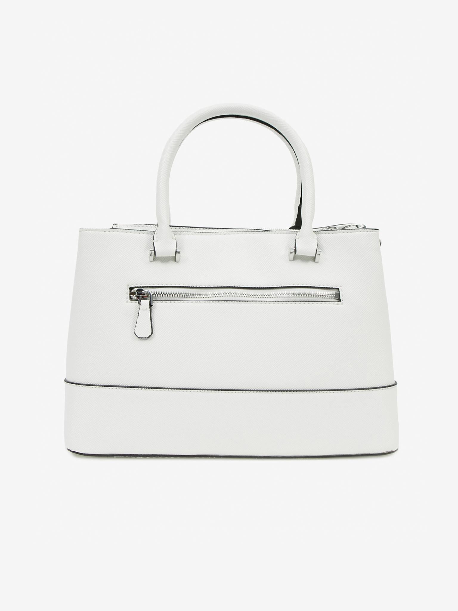 Guess бяла дамска чанта Cordelia Luxury