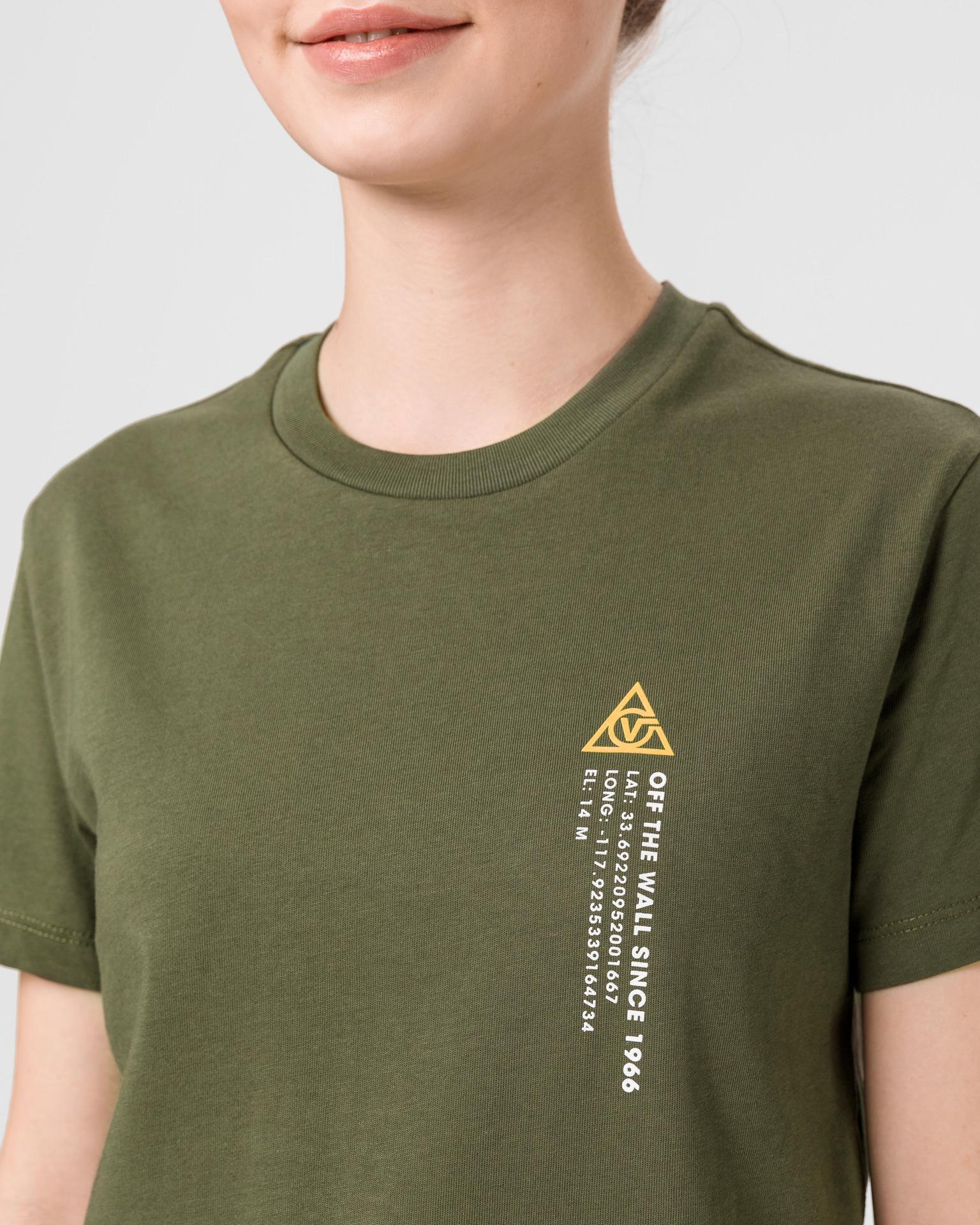 Vans зелена риза 66 Supply Tri