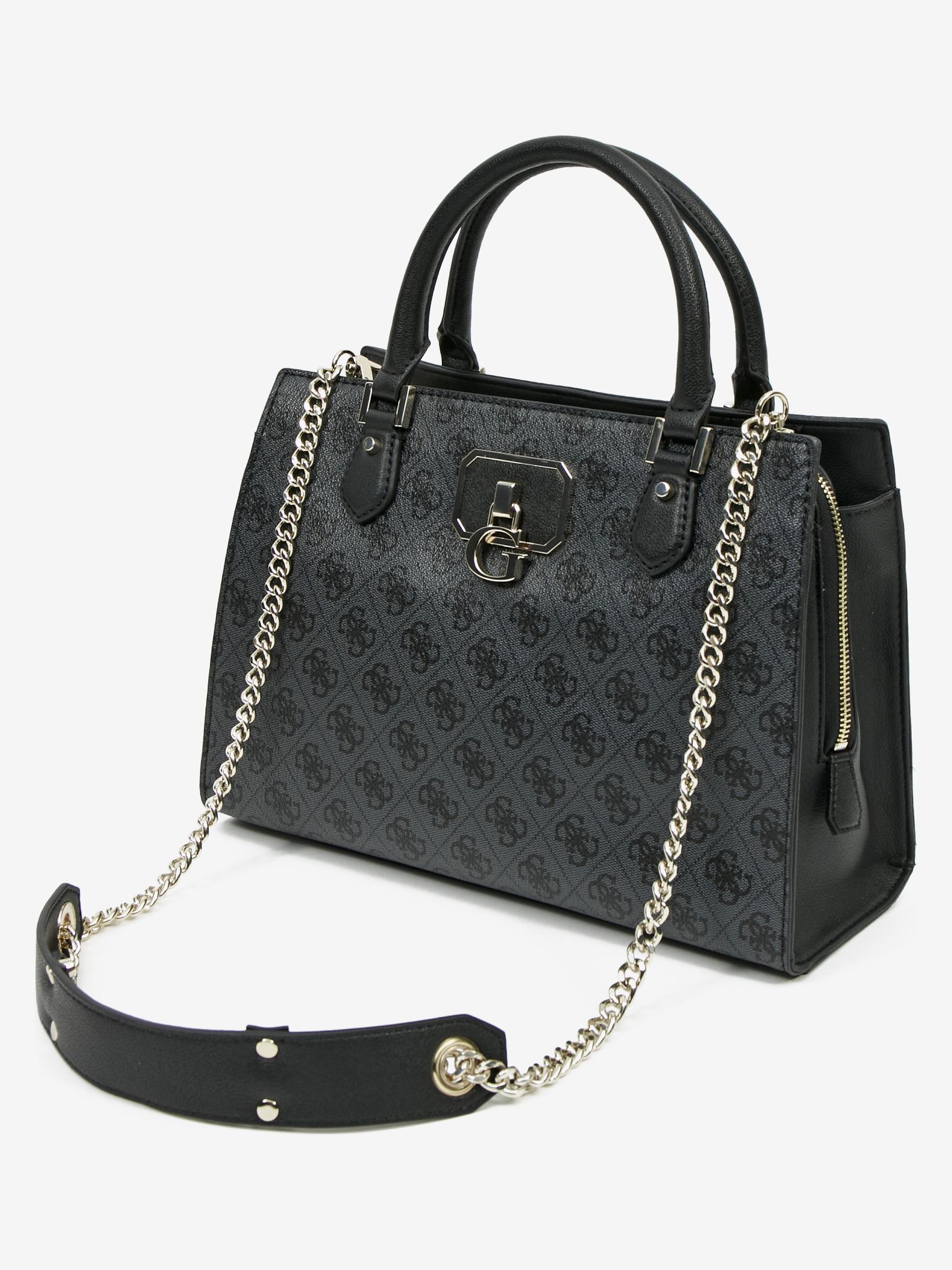 Guess черна дамска чанта Alisa Girlfriend
