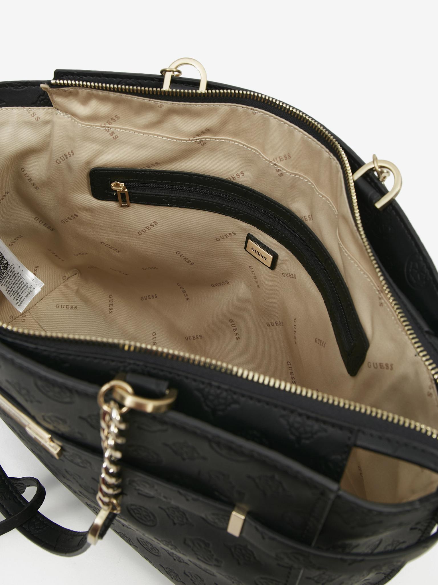 Guess черна дамска чанта Bea Elite