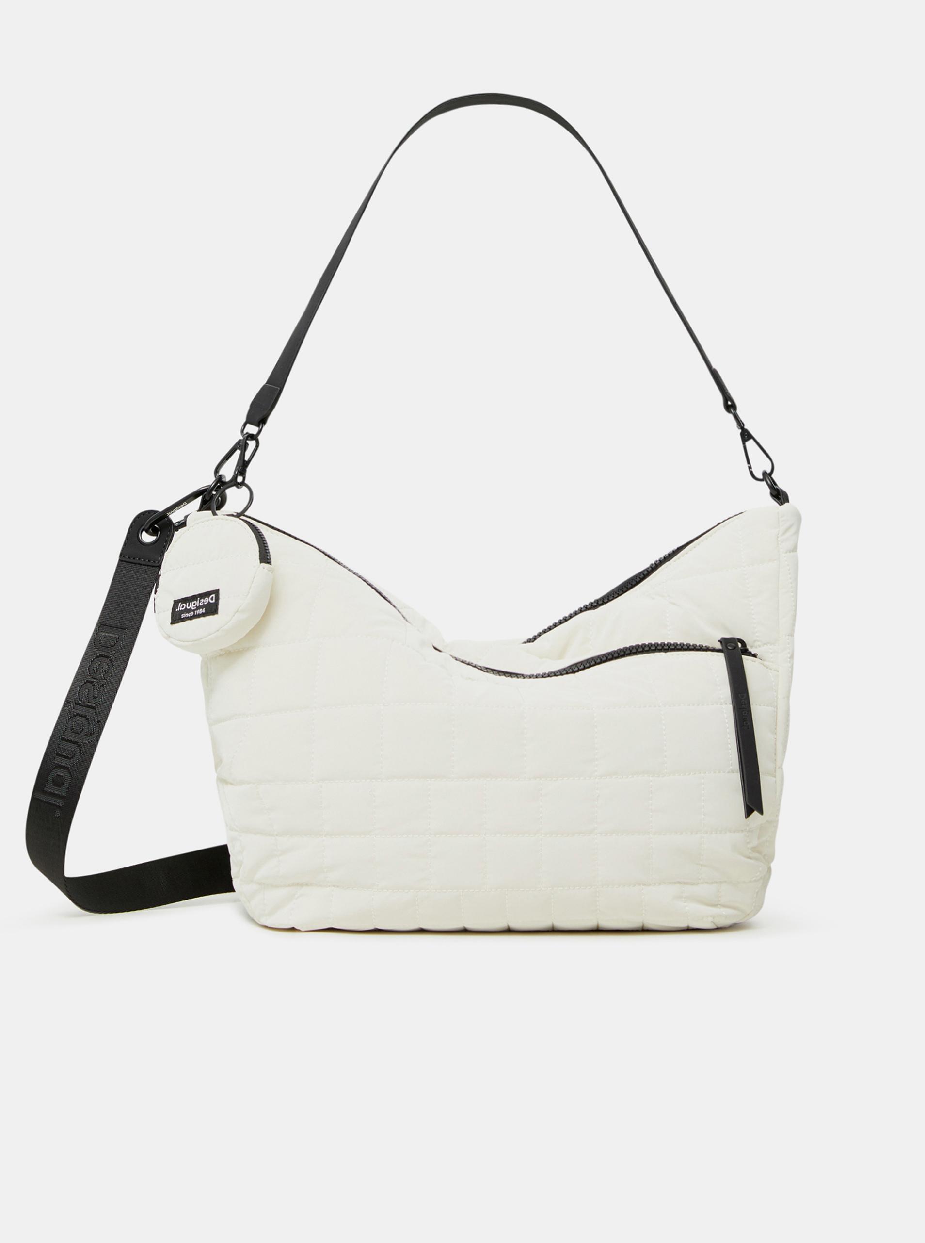 Desigual бяла дамска чанта COcoa Harry 2.0 Maxy