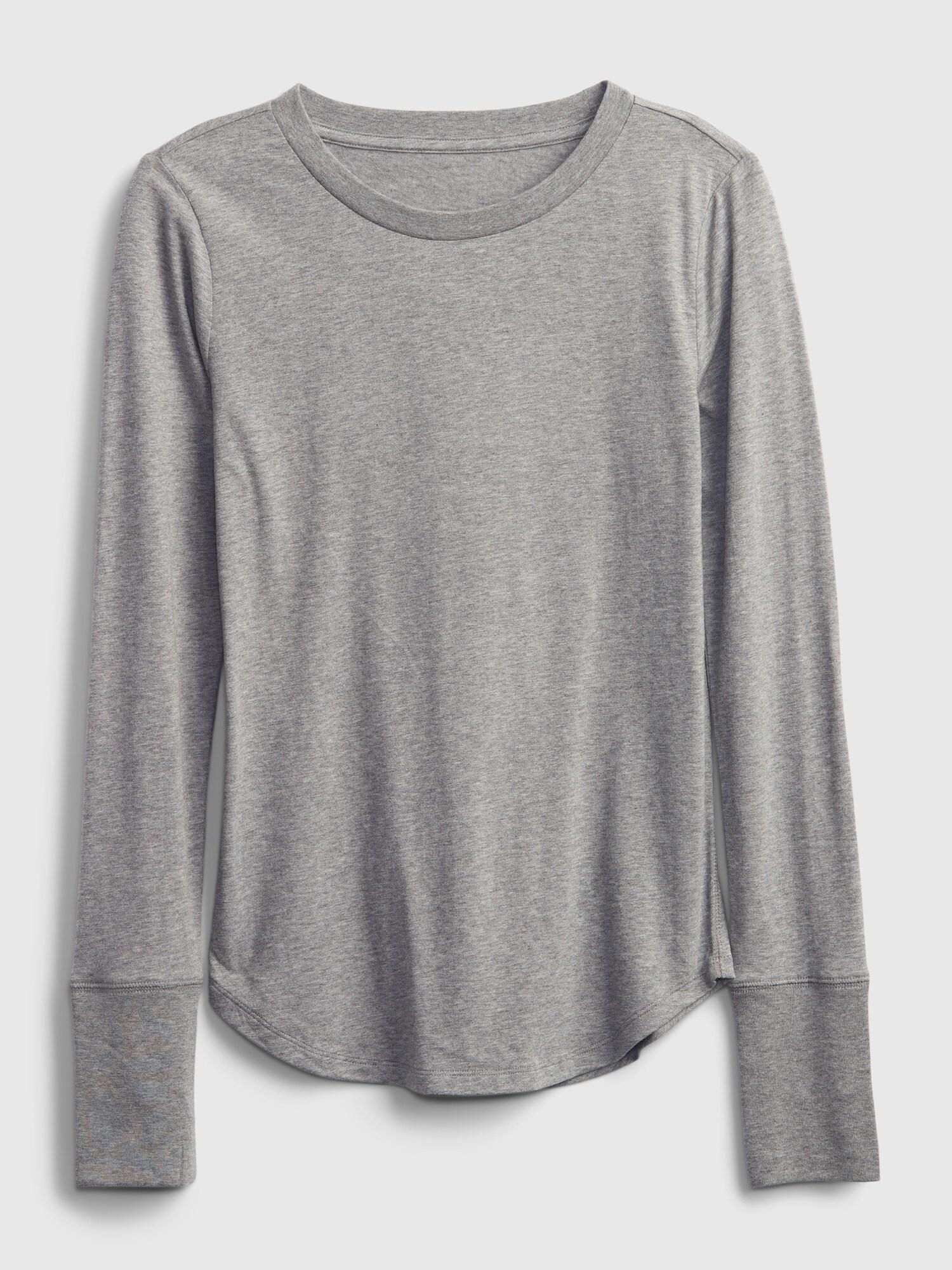 GAP Дамски тениски и потници сиво