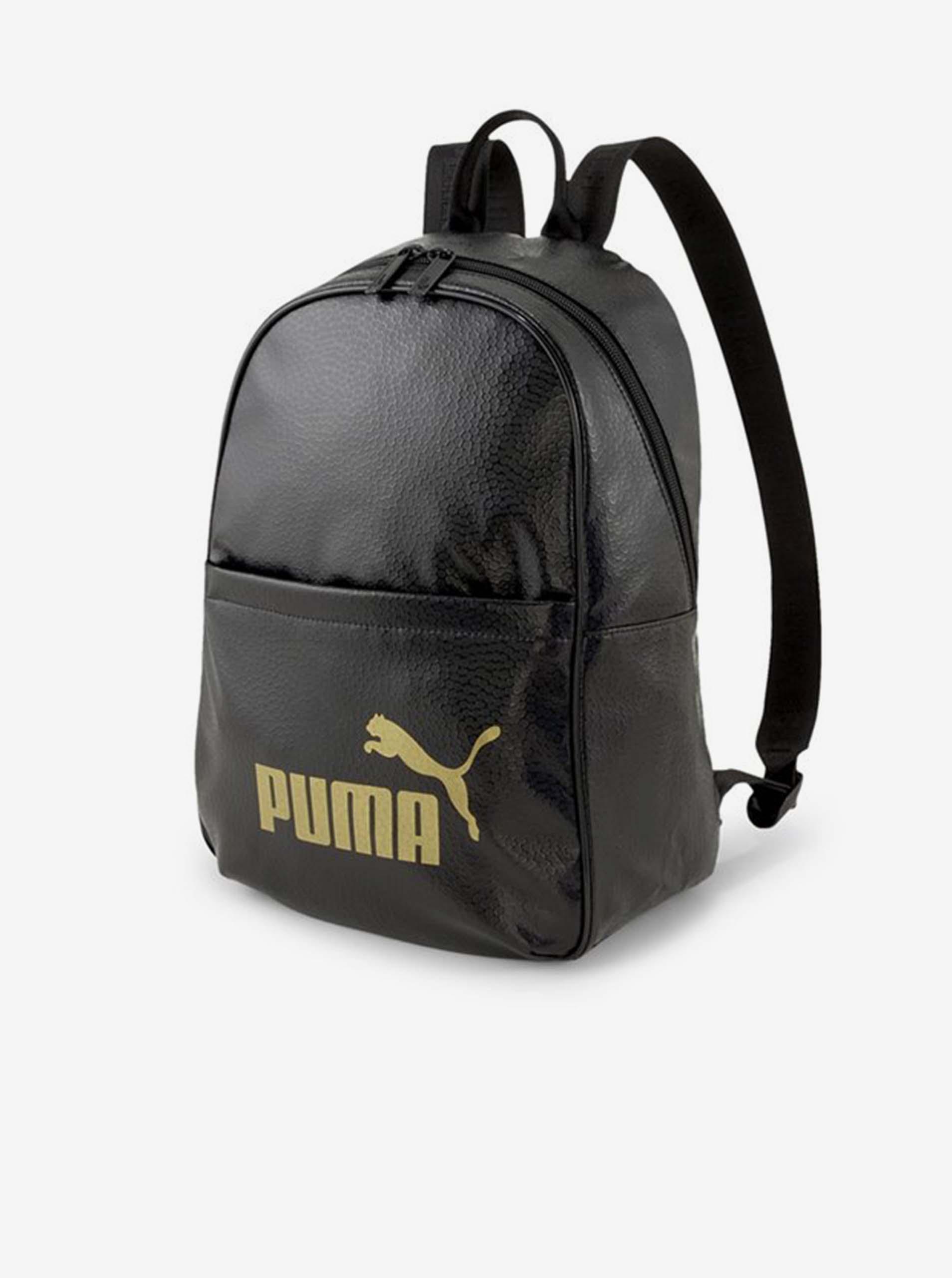 Черна дамска малка раница Puma