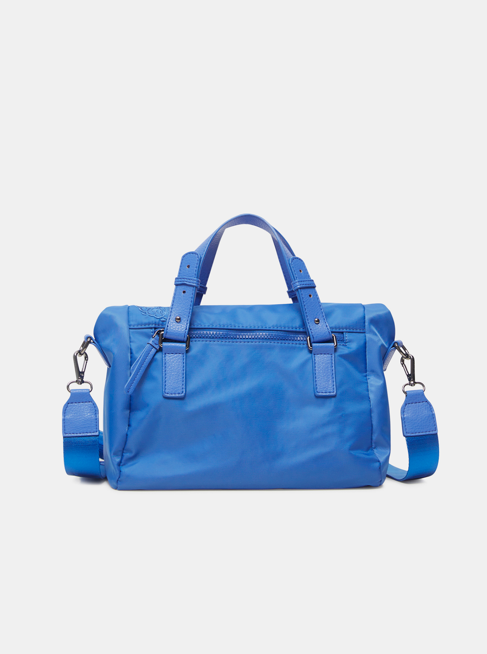 Синя дамска чанта с шарки Desigual Mandrala Loverty 2.0