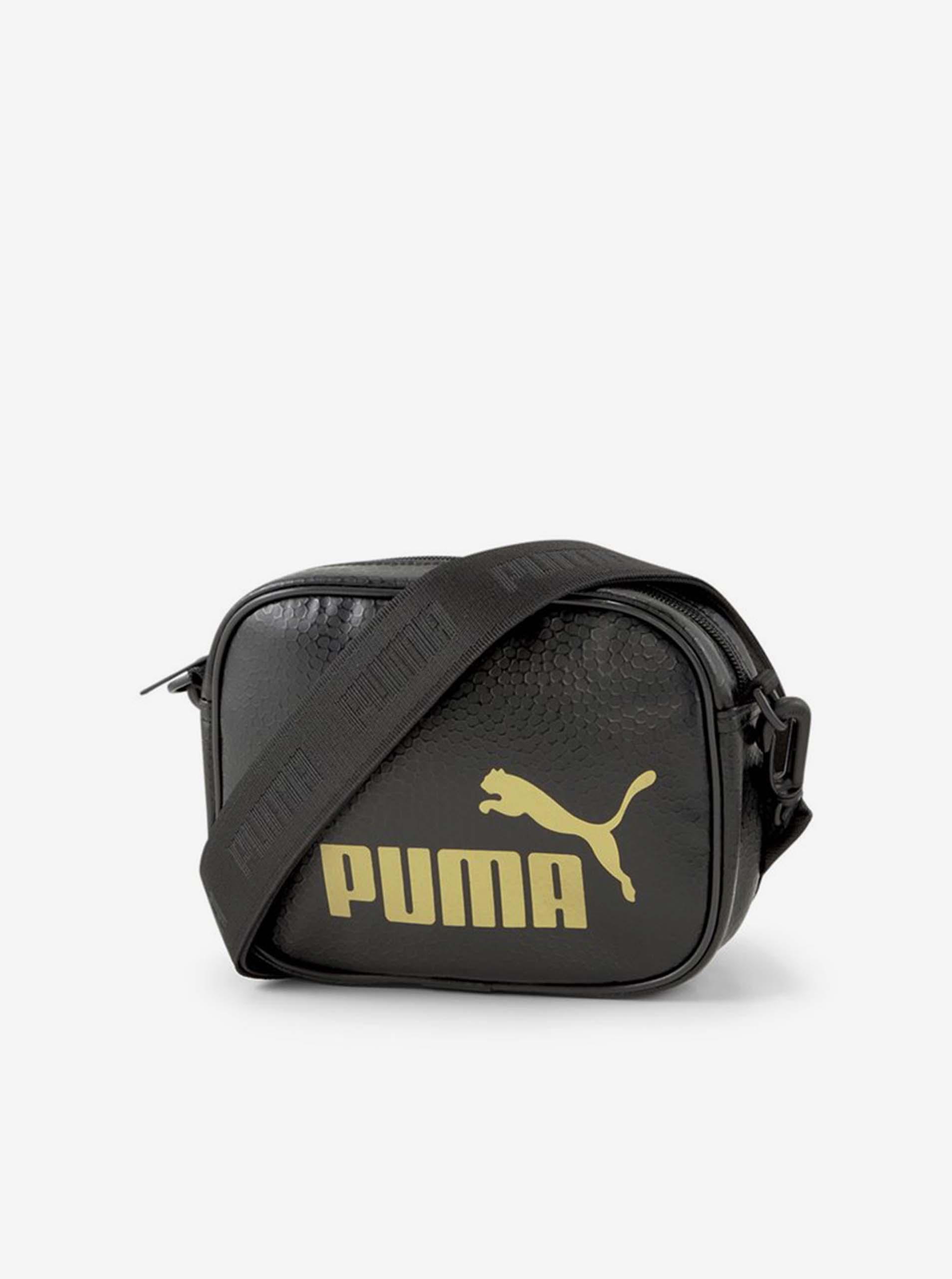Черна малка чанта на кръста Puma
