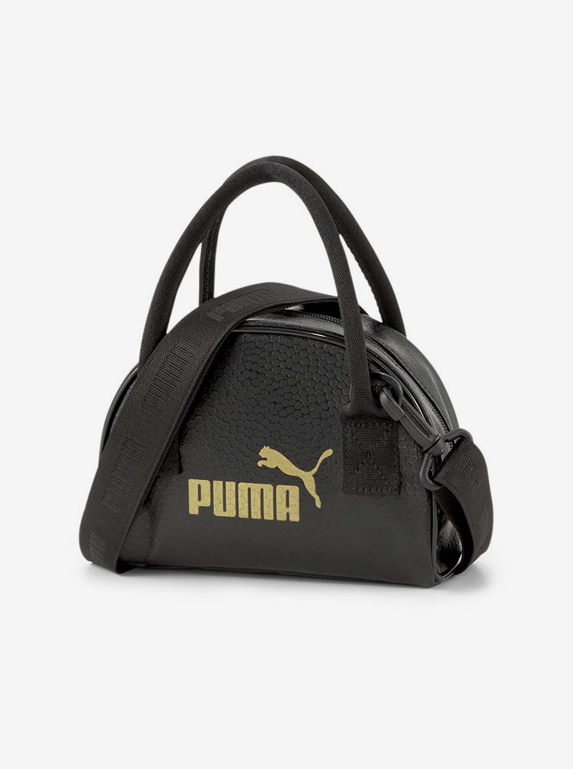 Черна дамска чанта на кръст Puma
