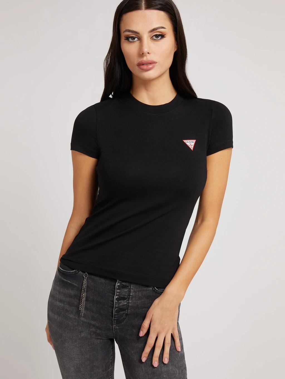 Guess Дамска тениска черно