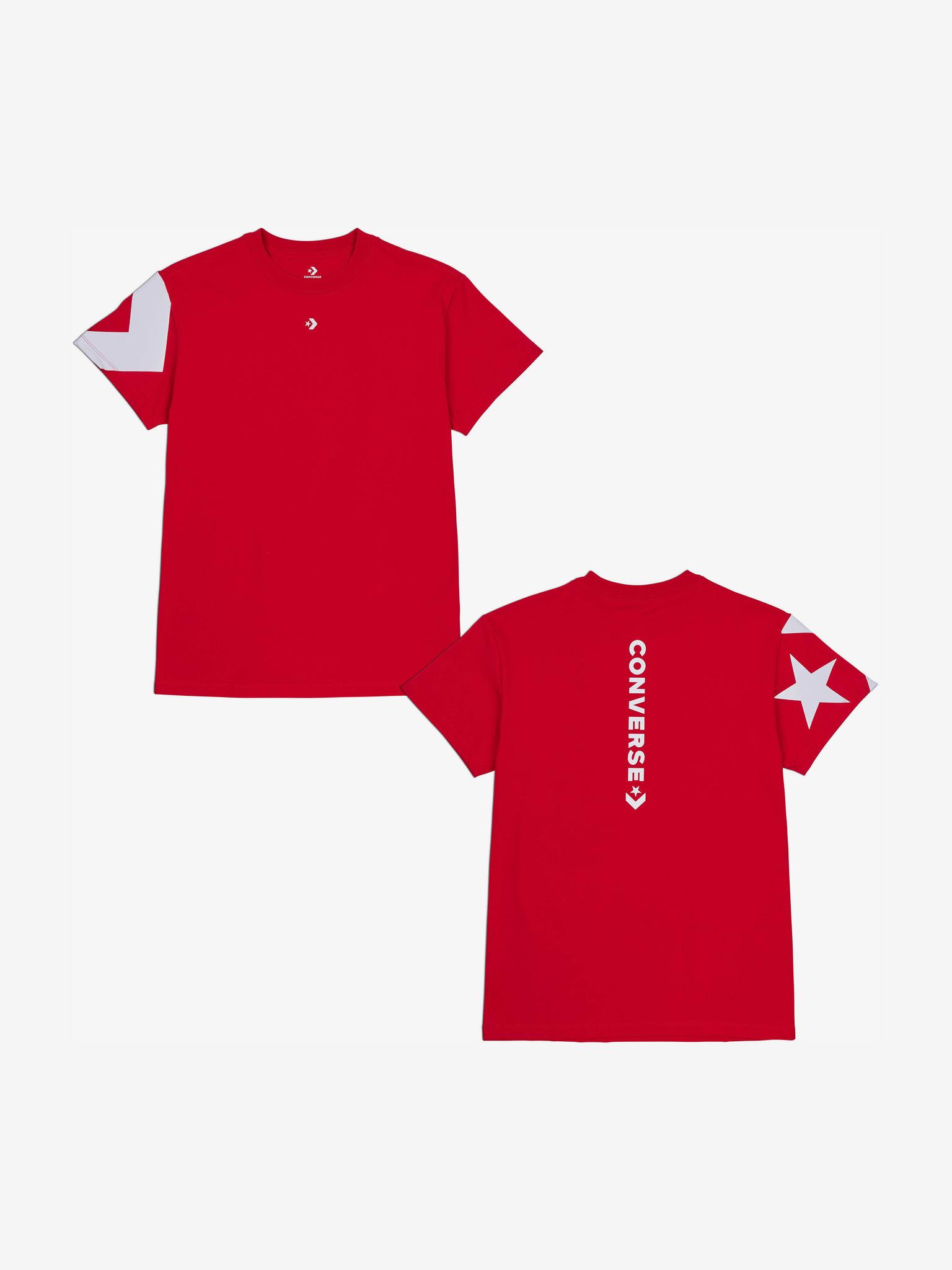 Converse Дамска тениска червено  Star