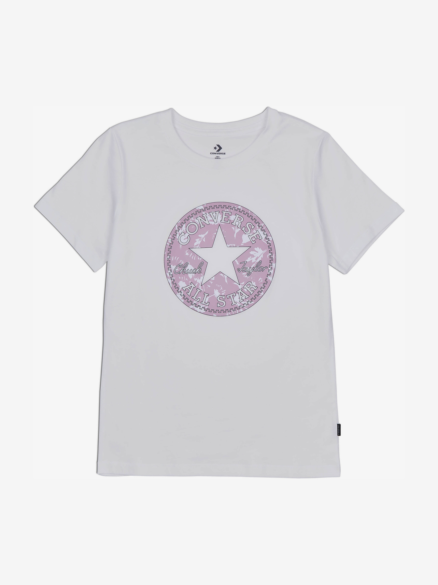 Converse Дамска тениска бял  Floral