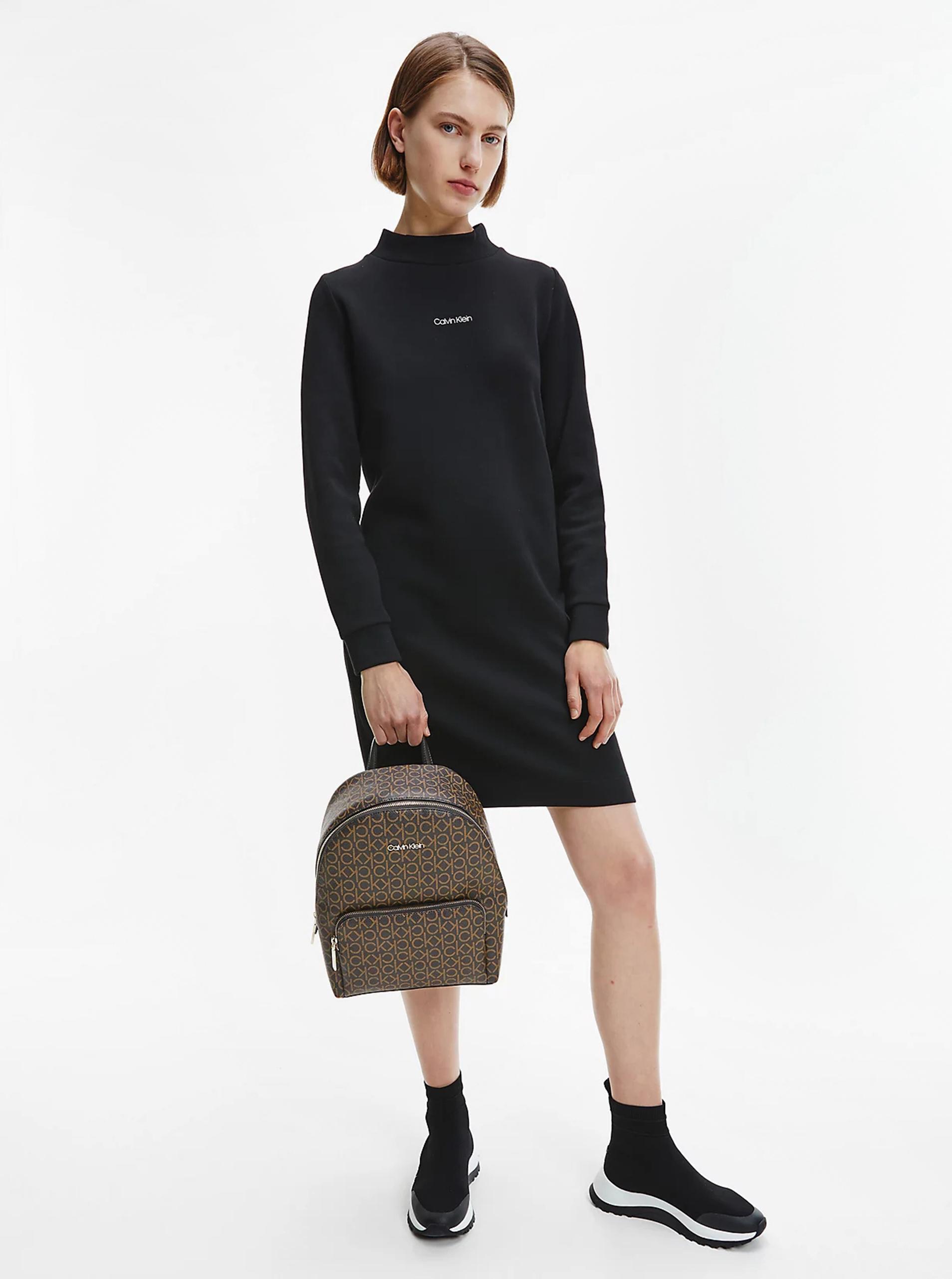 Calvin Klein кафява раница