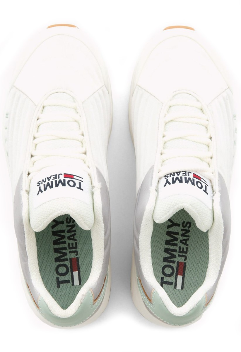 0f914ae3043 Tommy Hilfiger бели кецове с платформа WMN Heritage Tommy Jeans Sneaker  Drizzle