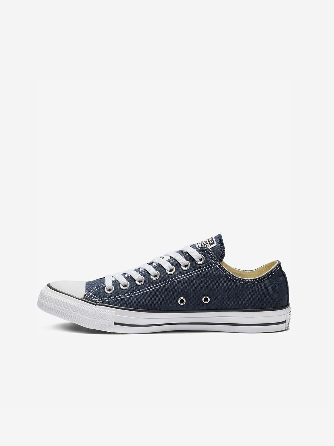 Converse сини мъжки кожа кецове Chuck Taylor All Star OX Navy
