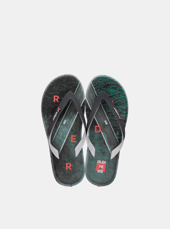 Rider цветен мъжки джапанки R1 Energy Ad Grey/Green/Orange