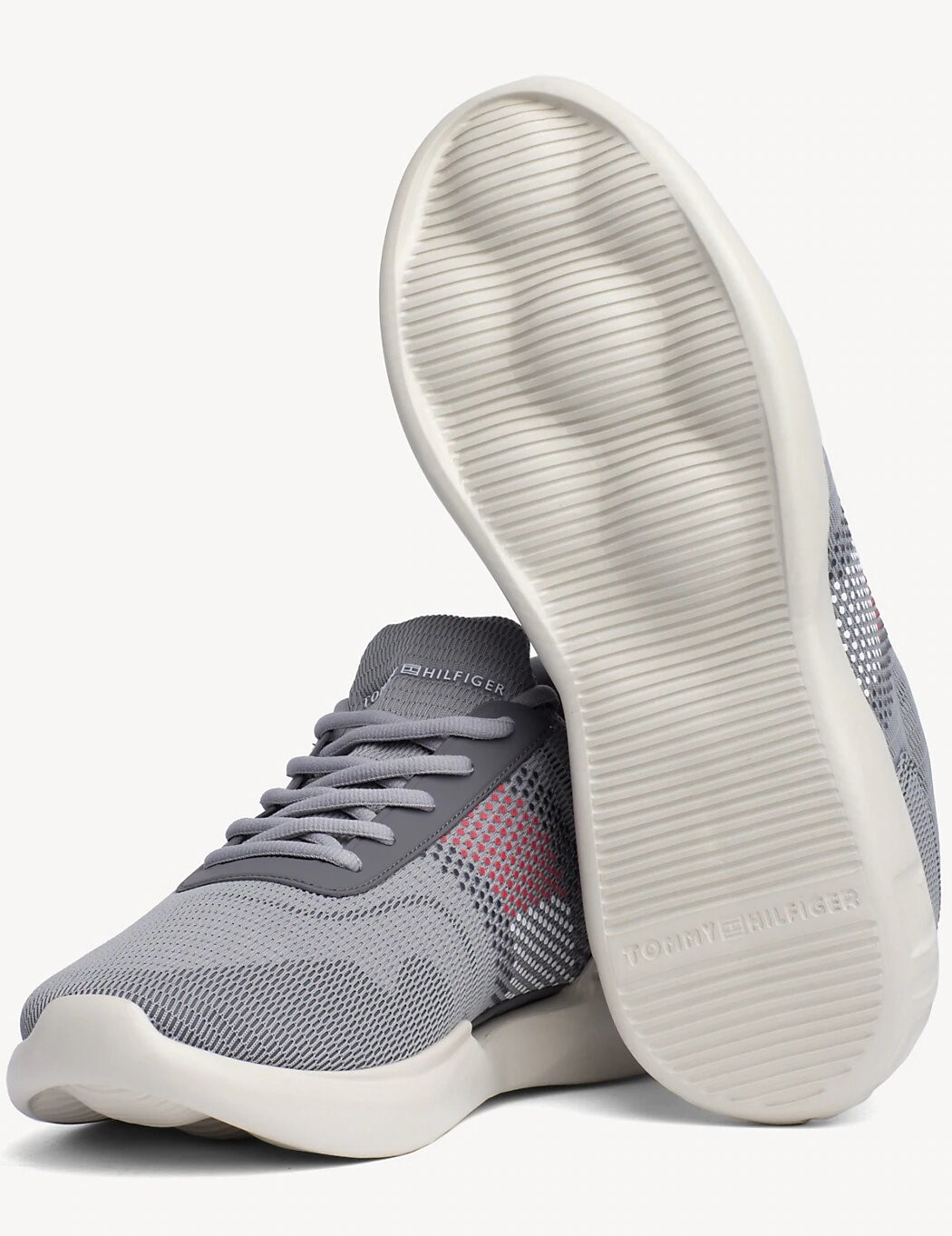 Tommy Hilfiger сиви мъжки кецове Corporate Underlay Runner Griffin