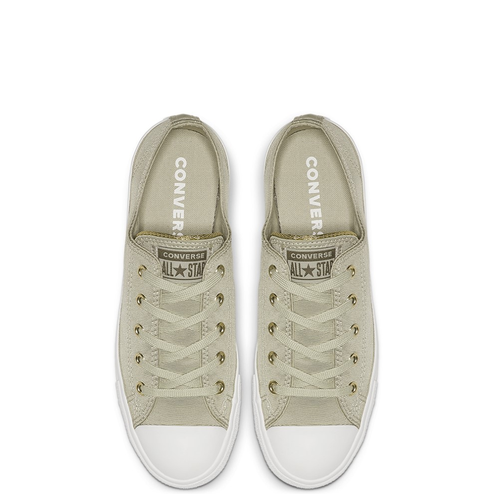 Converse зелени кецове Chuck Taylor All Star Dainty Ox Light surplus